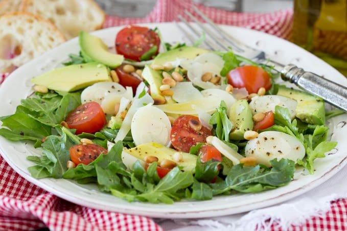 Italian Salad 3- SimpleHealthyKitchen.com