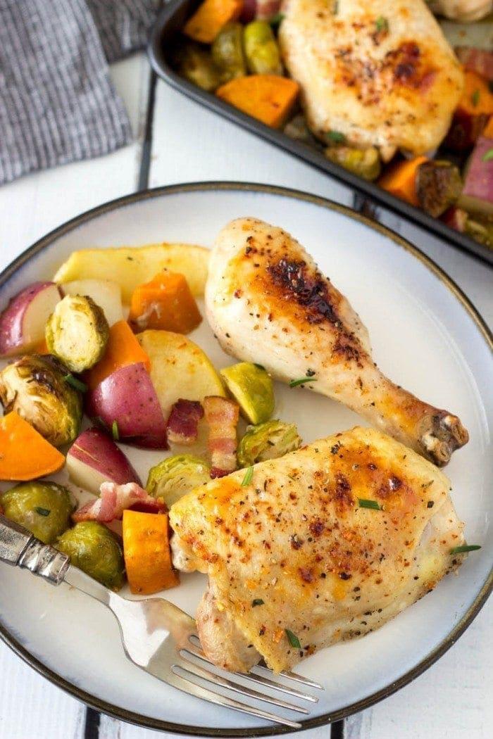 sheet-pan-maple-chicken pinterest