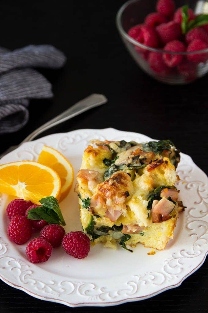 Easy Holiday Breakfast Casserole