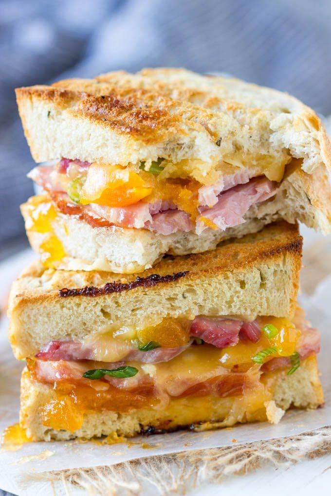 smoked-gouda-ham-apricot-panini 5