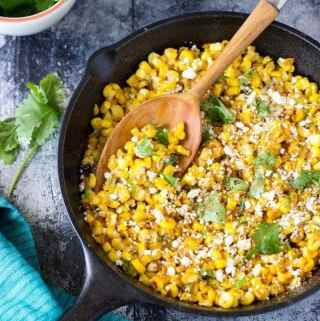 Mexican Street Corn | SimpleHealthyKitchen.com