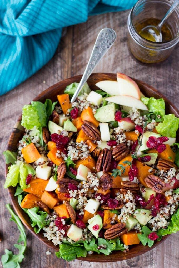 Harvest Sweet Potato + Quinoa Bowl