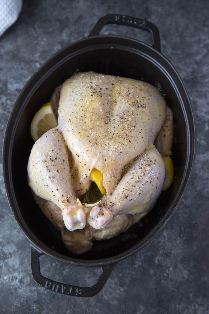 roasted-chicken-lemon-garlic-rosemary prep