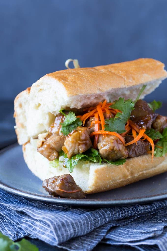 vietnamese-caramelized-pork sandwich 2