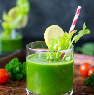 Insanely Good Green Juice ( or made it a Mocktail)