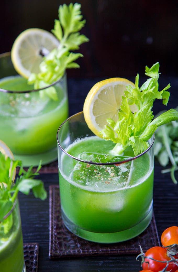 green juice mocktail 3