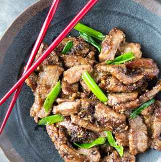 Quick + Easy Mongolian Beef