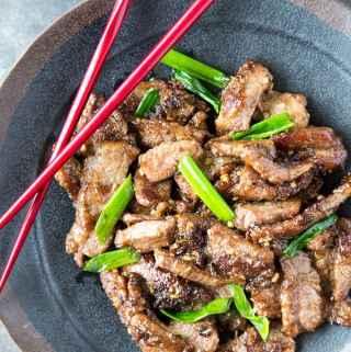Quick + Easy Mongolian Beef