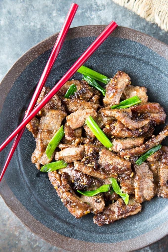 healthy mongolian beef 4