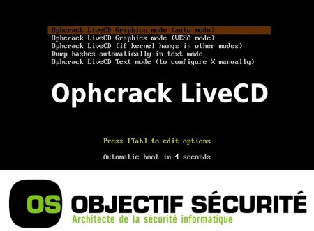 ophcrack live cd