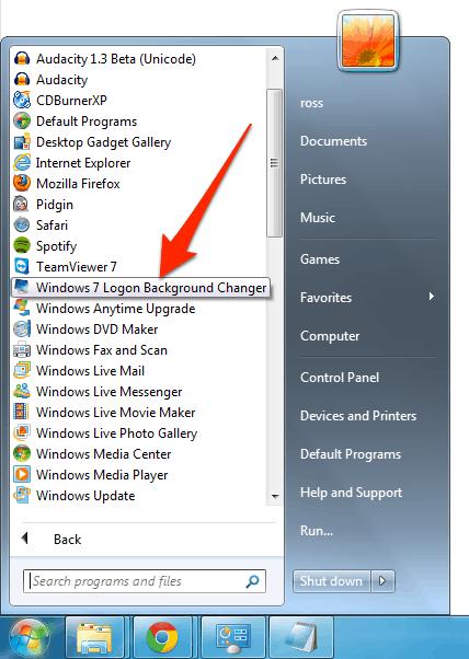 Start Changer Button Windows