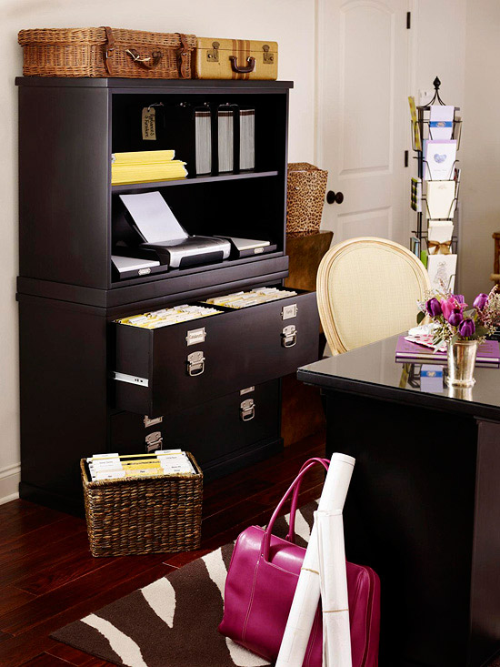 How To Organize Your Home Office Simpleigh Organized