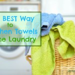 The Best Way to Freshen Towels in the Laundry