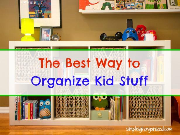 organize kid stuff