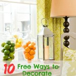 10 Free Ways to Decorate Your Home