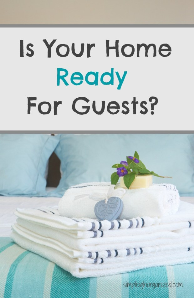 Getting Your Guest Room Ready