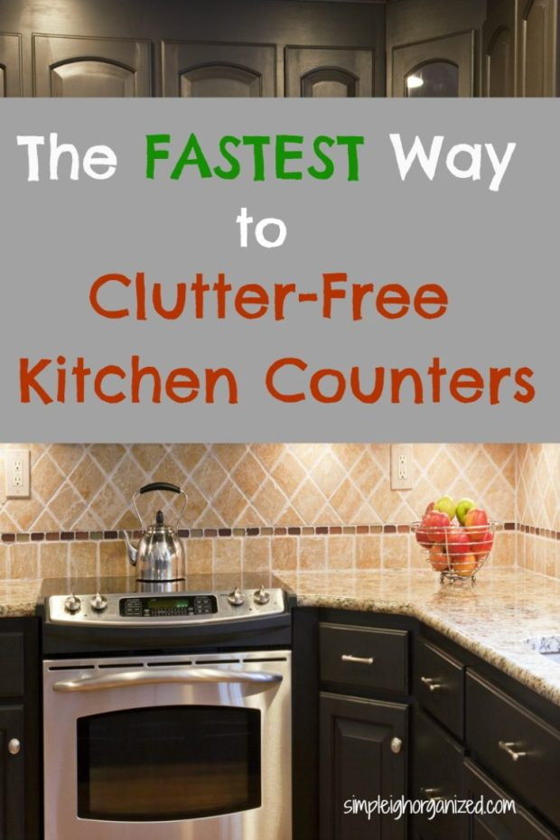 Kitchen Counters Clutter-Free