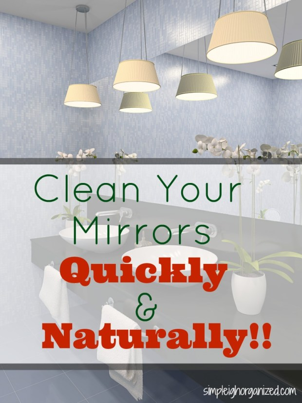 Clean Your Mirrors Quickly and Naturally