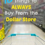 10 Things You Should Always Buy When Shopping at the Dollar Store