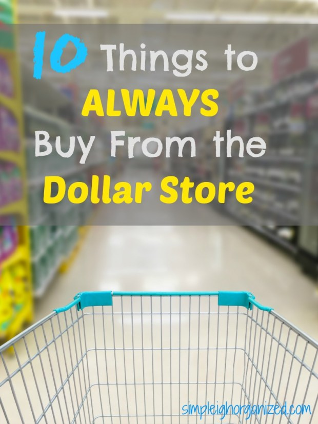Shopping at the Dollar Store