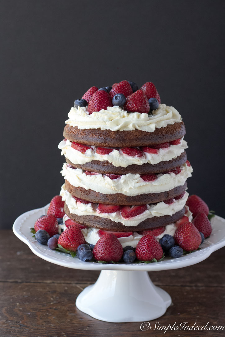 Strawberry Chocolate Cake My Favorite Cake To Made For Kids