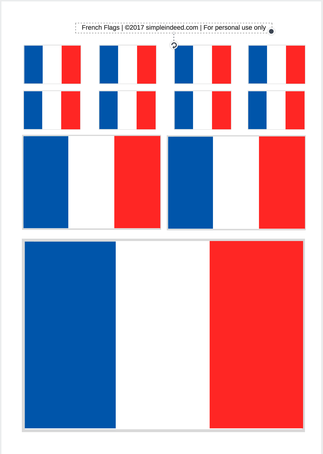 It is a photo of Gutsy Printable French Flag