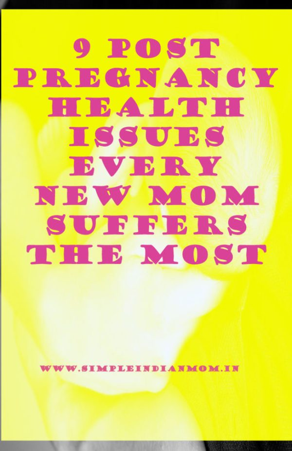 Post Pregnancy Health Issues