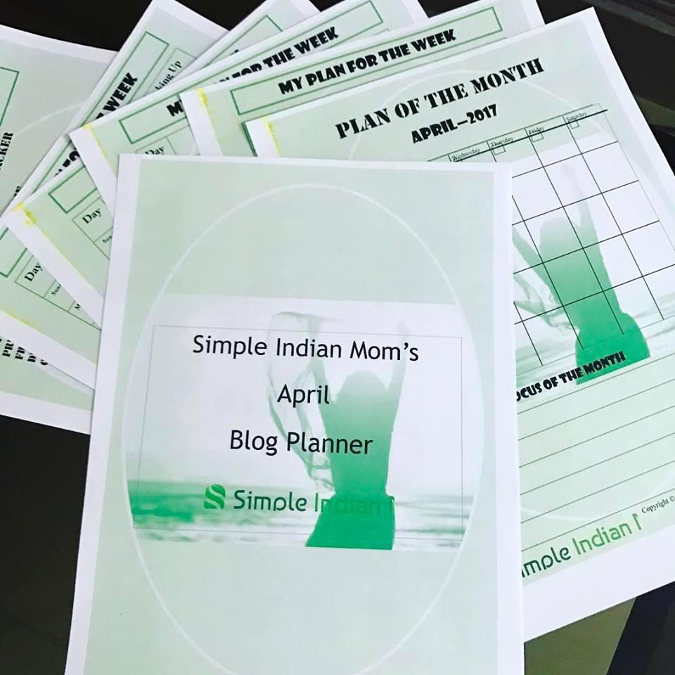 SIM Blog Planner