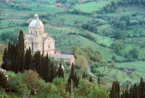Montepulciano's Church of San Biago.