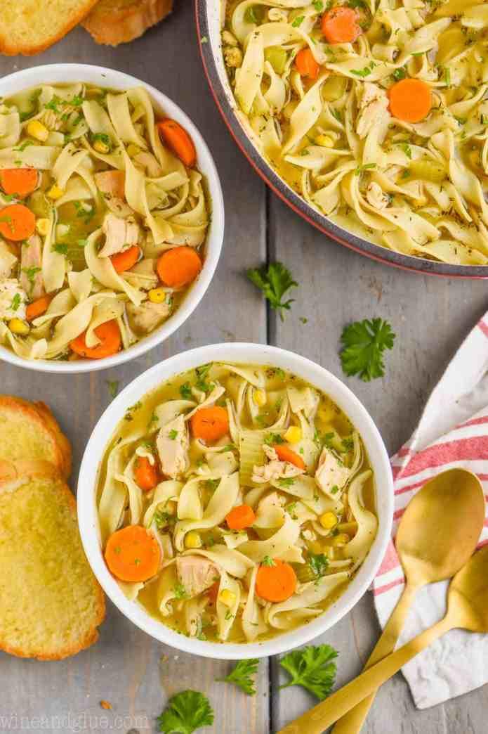 Turkey Noodle Soup Recipe Simple Joy