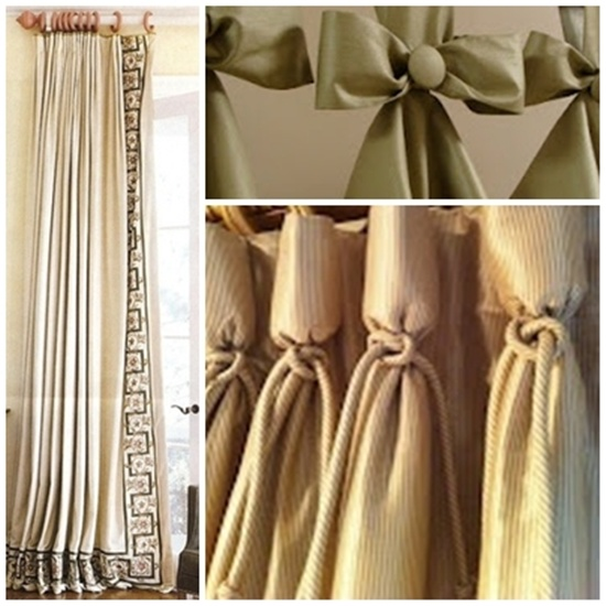 30 Beautiful New Curtain Ideas For Rooms on Draping Curtains Ideas  id=68994