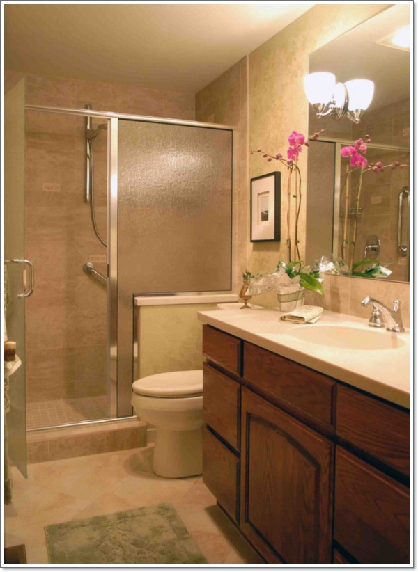 42 Ideas for the Perfect Rustic Bathroom Design on Restroom Renovation  id=85763