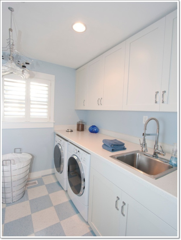 32 laundry room décor ideas on paint for laundry room floor ideas images id=58581