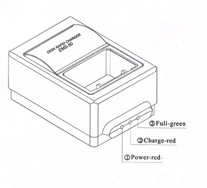 Icom BP-7 / CM-7 EMS-50 Portable/Handheld Desk Top Charger