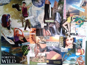 first vision board