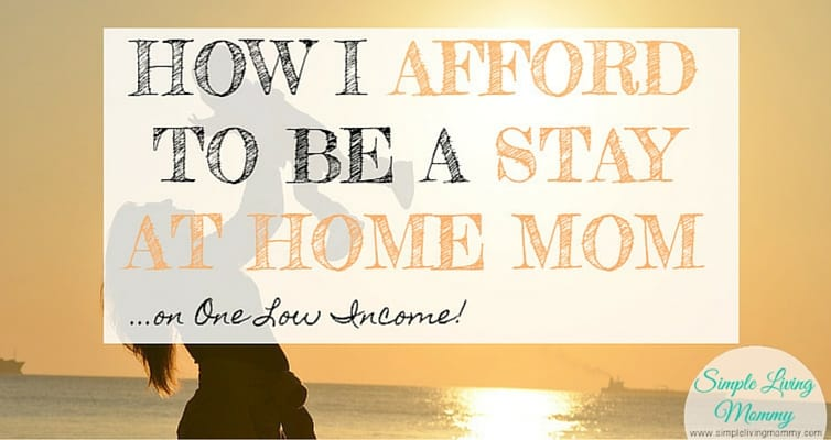If you want to be a stay at home mom, you can't miss these tips. My main concern when I found out I was pregnant was whether I could afford to quit my job to stay home with the kids. This blogger details how she does it on her husband's low income!