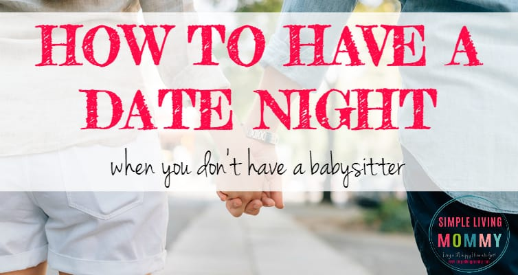 If you ever feel like you don't have time for date night with your spouse, you need to read this! This mom of two has figured out how to have regular dates with her husband without hiring a babysitter! Her tips definitely improved my marriage.