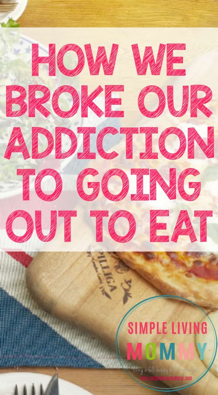 Do you spend way too much on food every month? If so, it's probably because you go out to eat at restaurants more than you need to. This mom explains how her family broke their restaurant addiction in order to save their budget. We need to try this in our house!