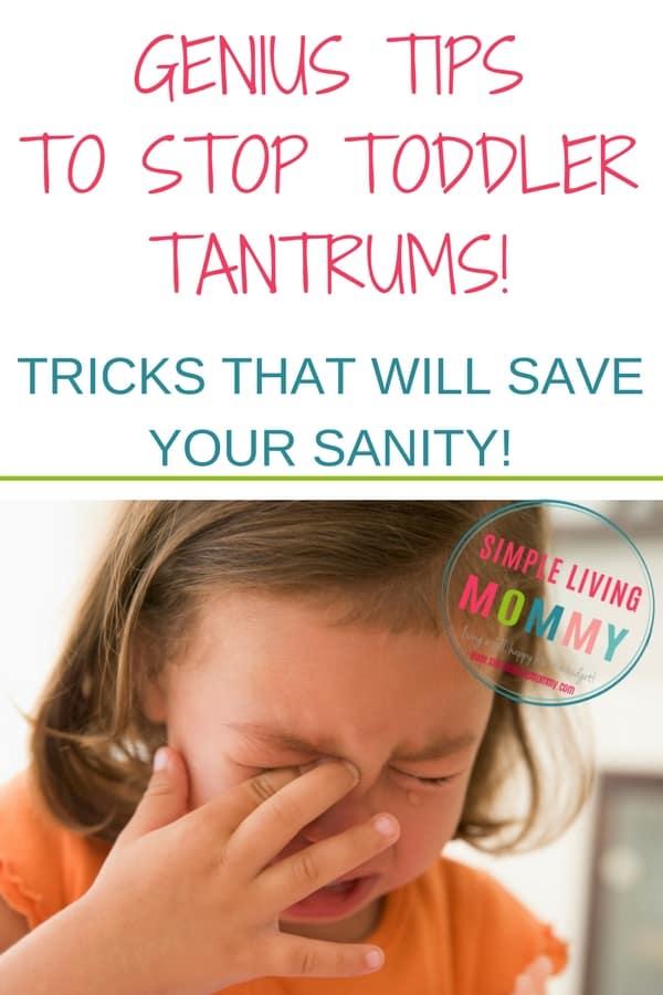 how to stop toddler tantrums, dealing with toddler tantrums