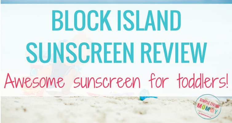 Block Island Sunscreen Review