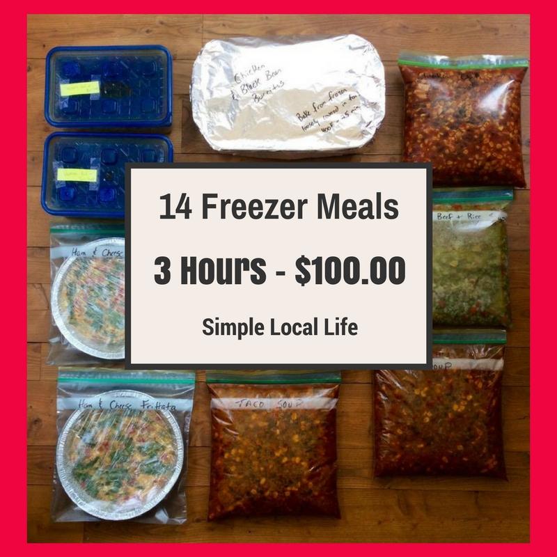 Meal Plan Monday- Freezer Meals