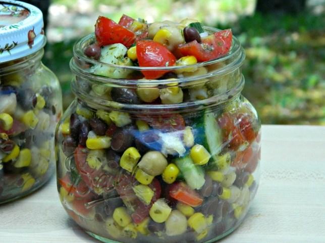 Top Recipe Posts- Chicken and Black Bean Summer Salad