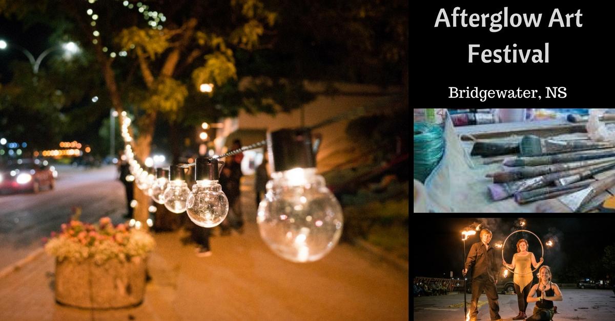 Afterglow Art Festival- A Bridgewater Art Experience