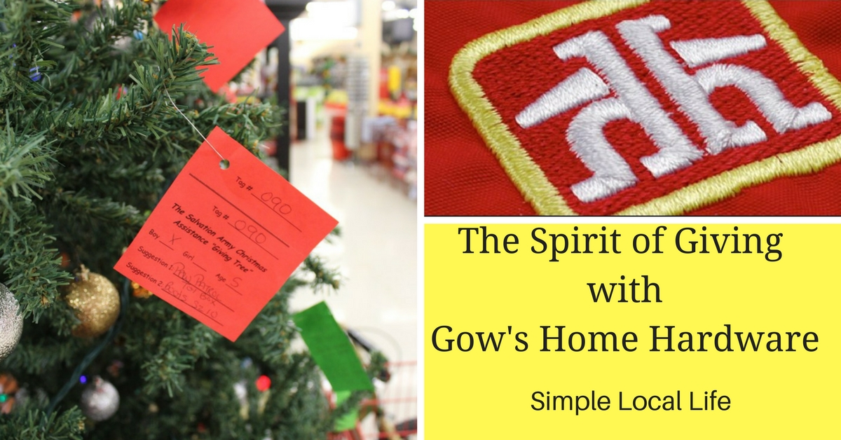 The Spirit of Giving with Gow's Home Hardware