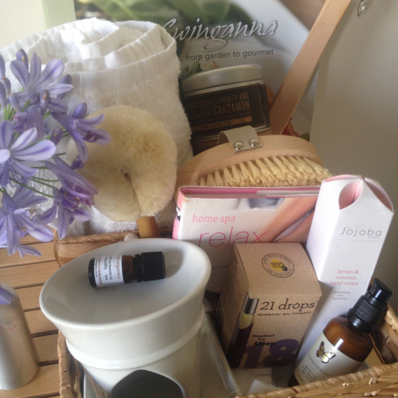 Handmade Destress And Relax Gift Basket