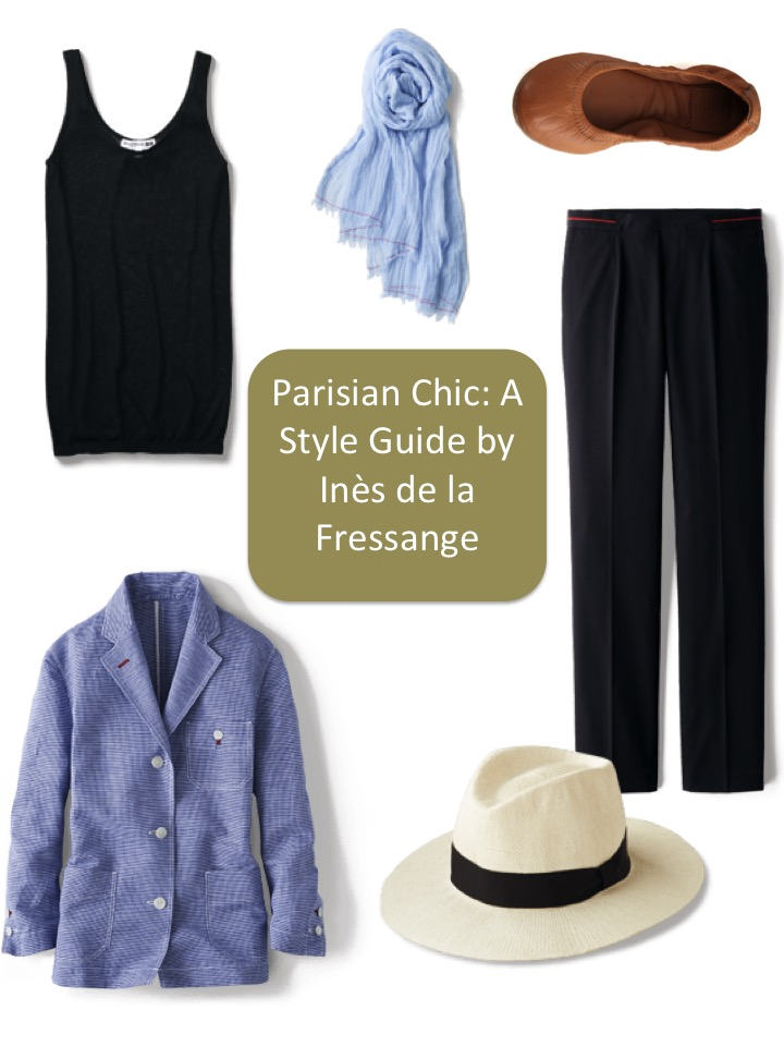Parisian chic a style guide by in s de la fressange French style fashion advice