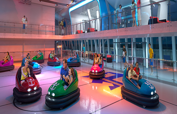 Bumper Cars on Royal Caribbean Cruise Lines