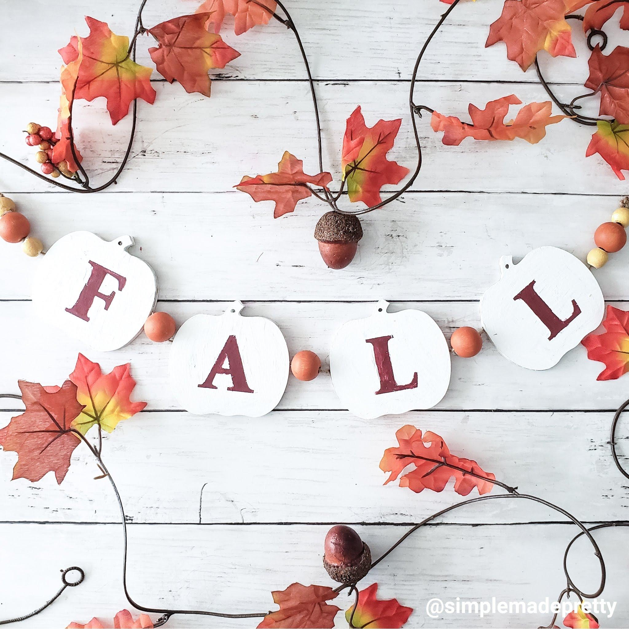 6 Simple Dollar Tree Diy Fall Decorations Simple Made