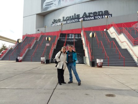 fan de hockey Joe Louis Arena