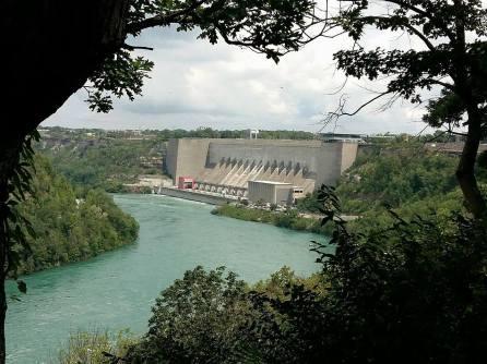 Visite à Niagara Falls Devil's hole turquoise
